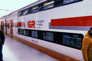 ジョージアの列車